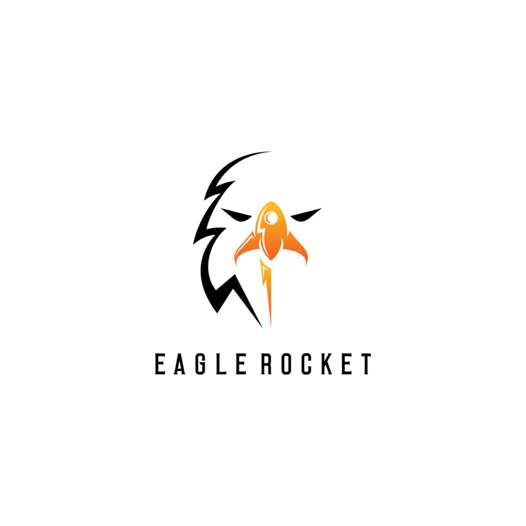 Logo eagle rocket