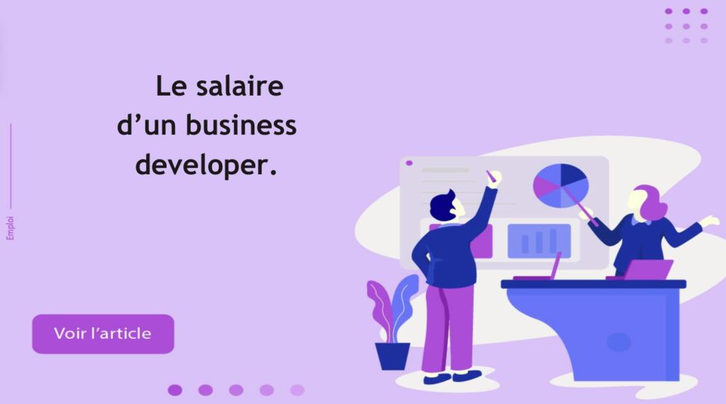 salaire business dev
